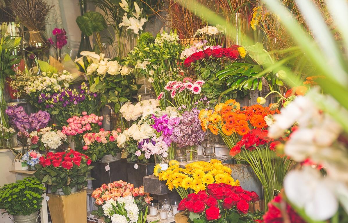 fleurs mariage var